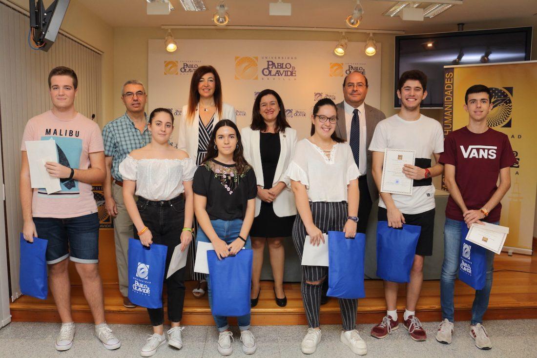 AionSur IES-Arahal-1 El IES La Campiña, de Arahal, Premio Humanitas 2019 de la Pablo de Olavide Arahal Educación  destacado