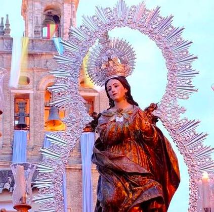 AionSur Moron-Virgen Se abre el concurso para el cartel de la patrona de Morón Morón de la Frontera Sociedad