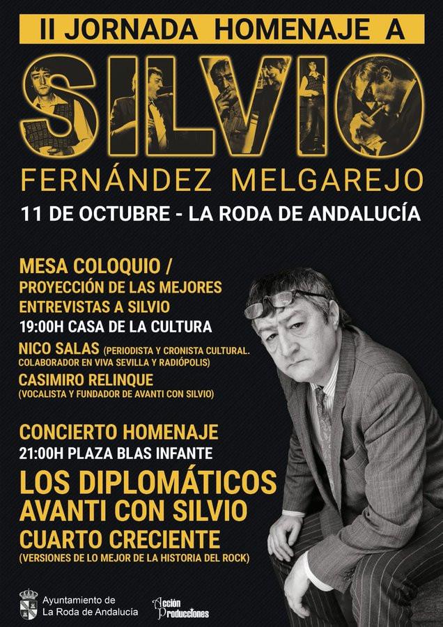 AionSur Silvio-homenaje La figura de Silvio vuelve a ser objeto de homenaje en La Roda de Andalucía Cultura