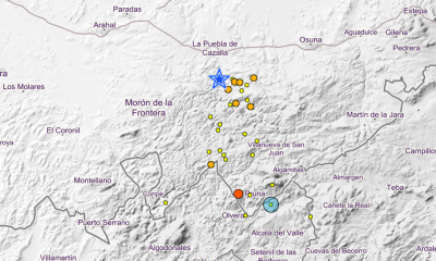 AionSur Terremotos-400x240 La Sierra Sur de Sevilla registra más de 30 terremotos en un mes Provincia Sucesos
