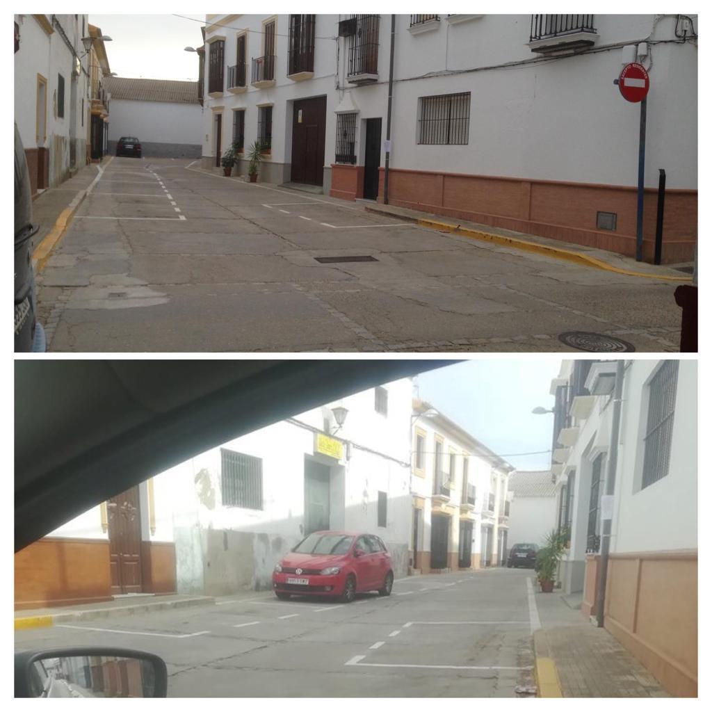 AionSur b69ce8b8-ceb9-4680-9331-470a9b920b3d-compressor Conflicto vecinal en la calle José María Iglesias por la instalación de una señal de tráfico Arahal Sociedad  destacado