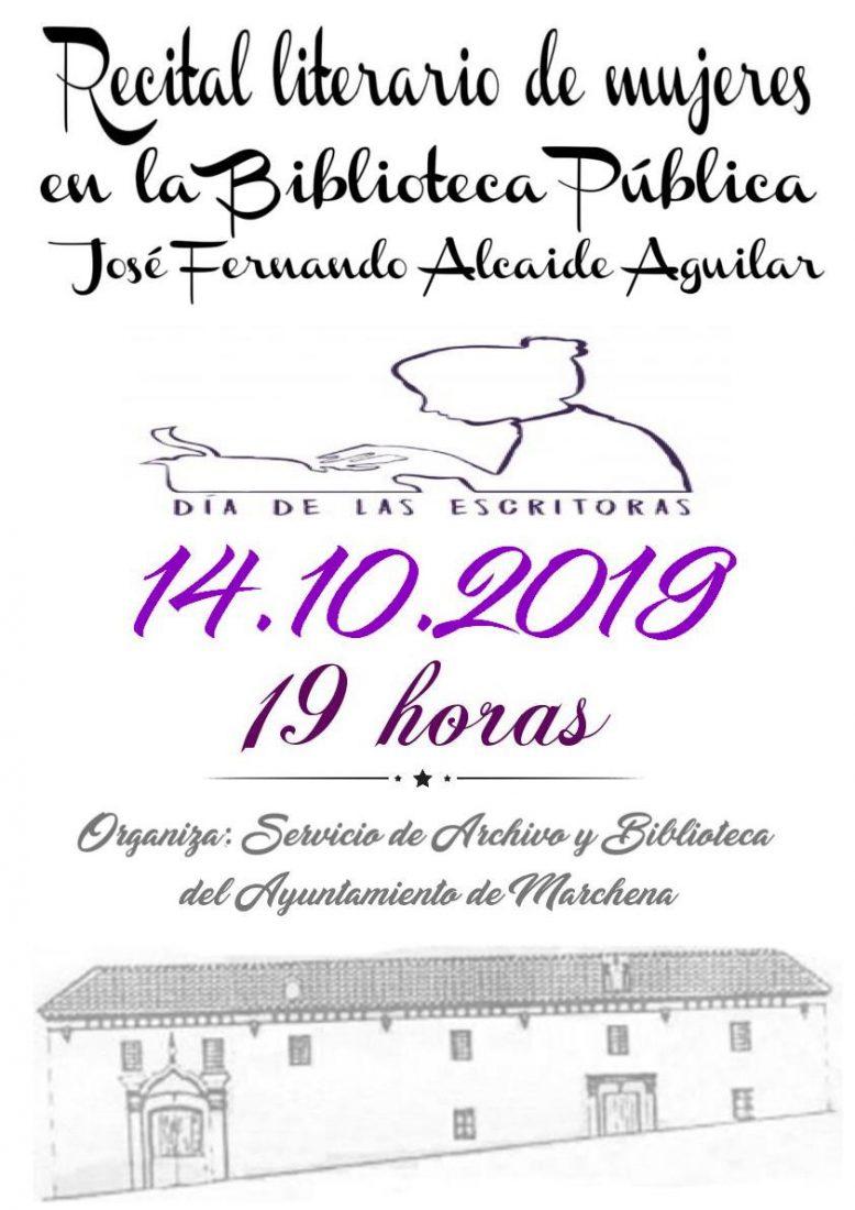 AionSur cadd490e-c32b-4275-bde9-4b5520e4bddb-compressor Las escritoras de Marchena leerán textos propios para celebrar el día dedicado a ellas Cultura Marchena