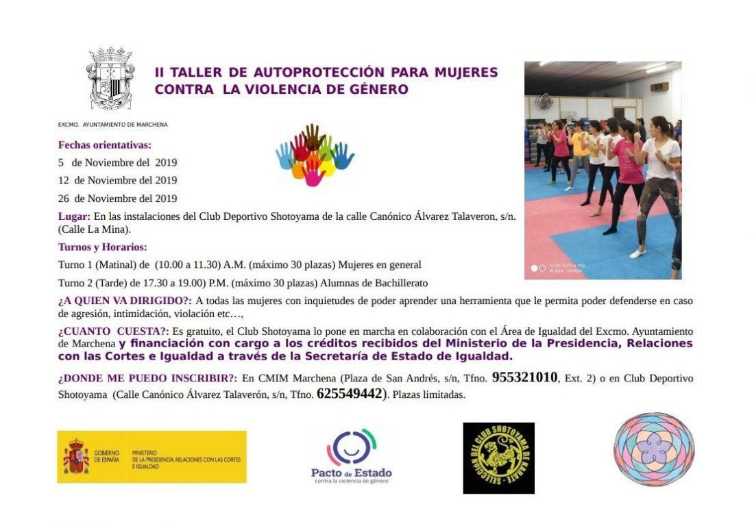 AionSur curso-defensa-Marchena-compressor II Taller de Autoprotección para Mujeres contra la Violencia de Género en Marchena Marchena