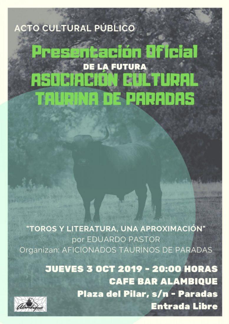 AionSur: Noticias de Sevilla, sus Comarcas y Andalucía e3d74d0b-64eb-4013-bbd9-0352c1853daa-compressor Paradas presenta su primera Asociación Cultural Taurina Agenda Paradas