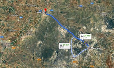 AionSur marchena-carmona-carretera-400x240 La búsqueda de la anciana de Carmona se centra en la carretera de Marchena Carmona Sucesos