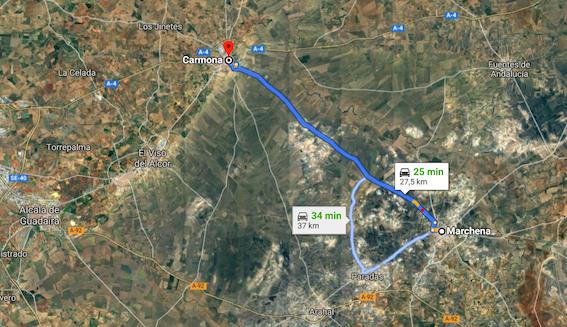 AionSur: Noticias de Sevilla, sus Comarcas y Andalucía marchena-carmona-carretera La búsqueda de la anciana de Carmona se centra en la carretera de Marchena Carmona Sucesos