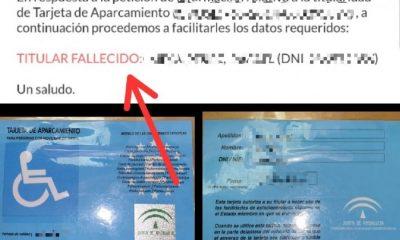 AionSur: Noticias de Sevilla, sus Comarcas y Andalucía tarjeta-aparcamiento-400x240 Encuentra una tarjeta de aparcamiento de movilidad reducida y la usa dos años Castilleja de la Cuesta Sucesos destacado