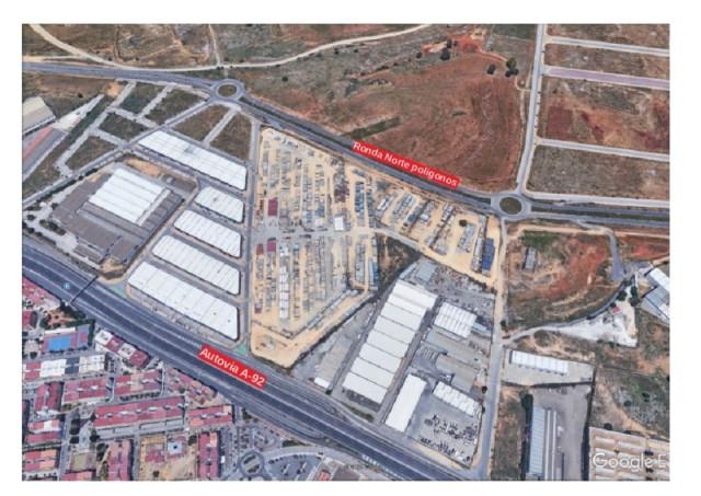 AionSur era-con-localizaión-Pie-Solo Más de 100.000 metros cuadrados de suelo nuevo para la implantación de actividades económicas y comerciales en Alcalá de Guadaíra Alcalá de Guadaíra