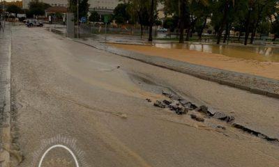 AionSur 74368461_471249723597135_2514759594404741120_n-400x240 Viviendas inundadas, calles, negocios y carretera cortada, incidencias de la tarde de lluvia en Marchena Marchena  destacado