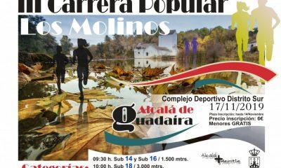 AionSur Cartel-Carrera-Molinos-2019-400x240 Alcalá de Guadaíra celebra este domingo su III Carrera Popular Los Molinos Alcalá de Guadaíra Deportes