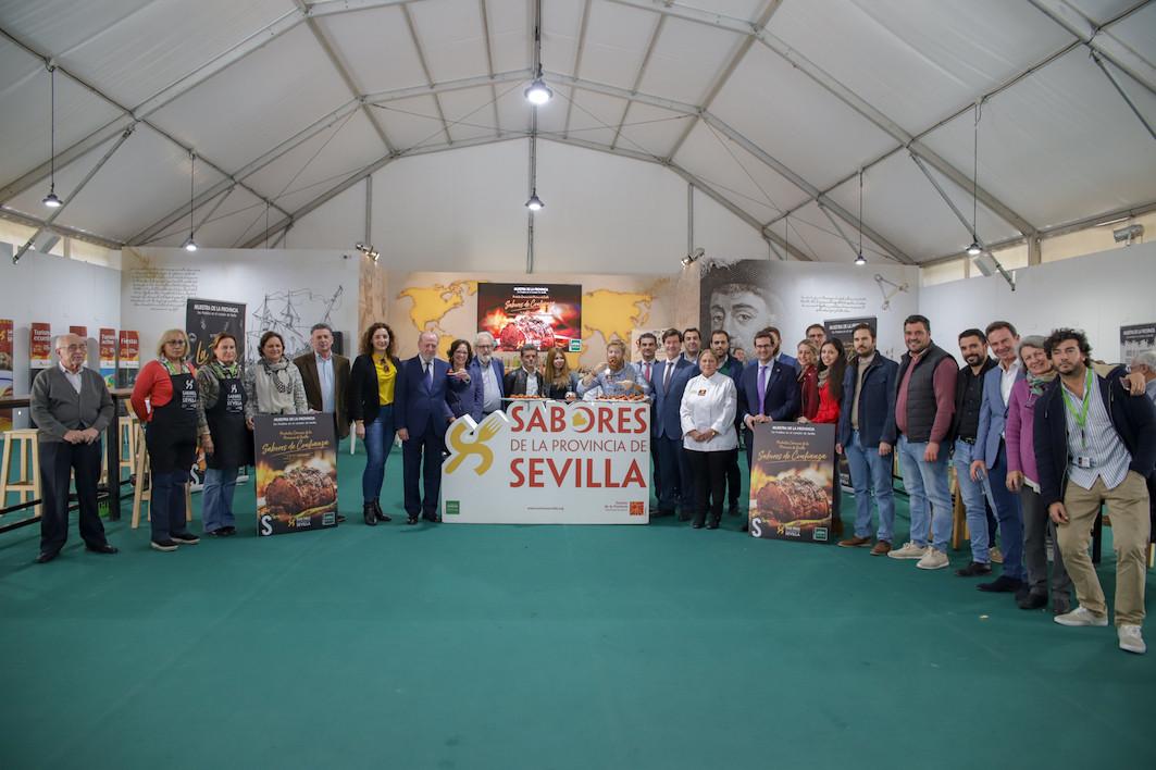 AionSur Diputacion-Feria La Feria de la Tapa muestra lo mejor de la gastronomía sevillana en la Diputación Prodetur Provincia  destacado