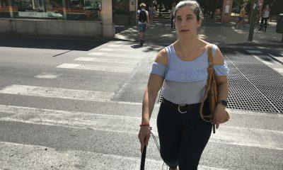 AionSur Raquel-Semaforo-6-400x240 Una joven invidente consigue un semáforo sonoro en Sevilla tras 10 años de gestiones Sevilla Sociedad
