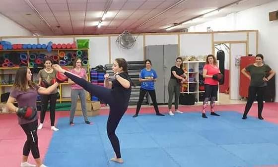 AionSur Taller-Marchena-2-1 En marcha el II Taller de Autoprotección para Mujeres de Marchena Marchena Sociedad