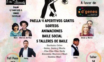 AionSur: Noticias de Sevilla, sus Comarcas y Andalucía baile-400x240 Baile solidario contra las enfermedades raras en Camas Camas Salud