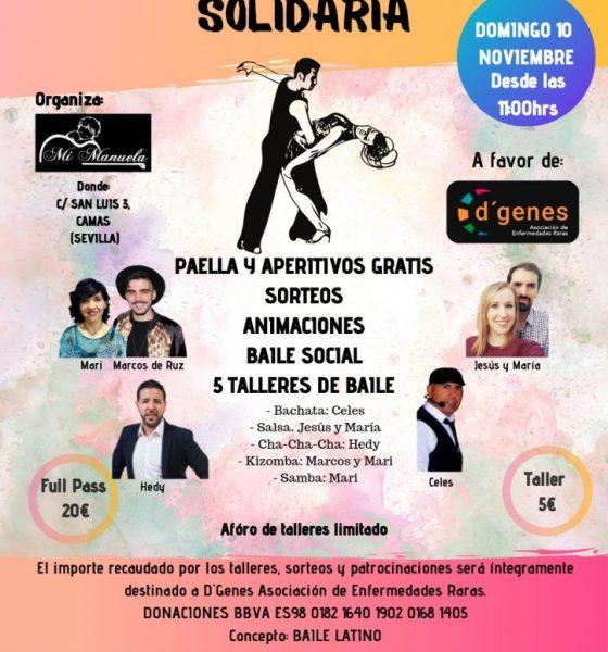 AionSur baile-560x600 Baile solidario contra las enfermedades raras en Camas Camas Salud
