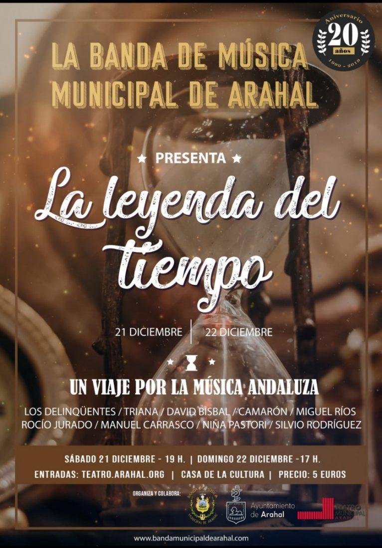 AionSur banda-arahal-navidad 'La leyenda del tiempo', la Navidad vista por la Banda Municipal de Arahal Arahal Cultura
