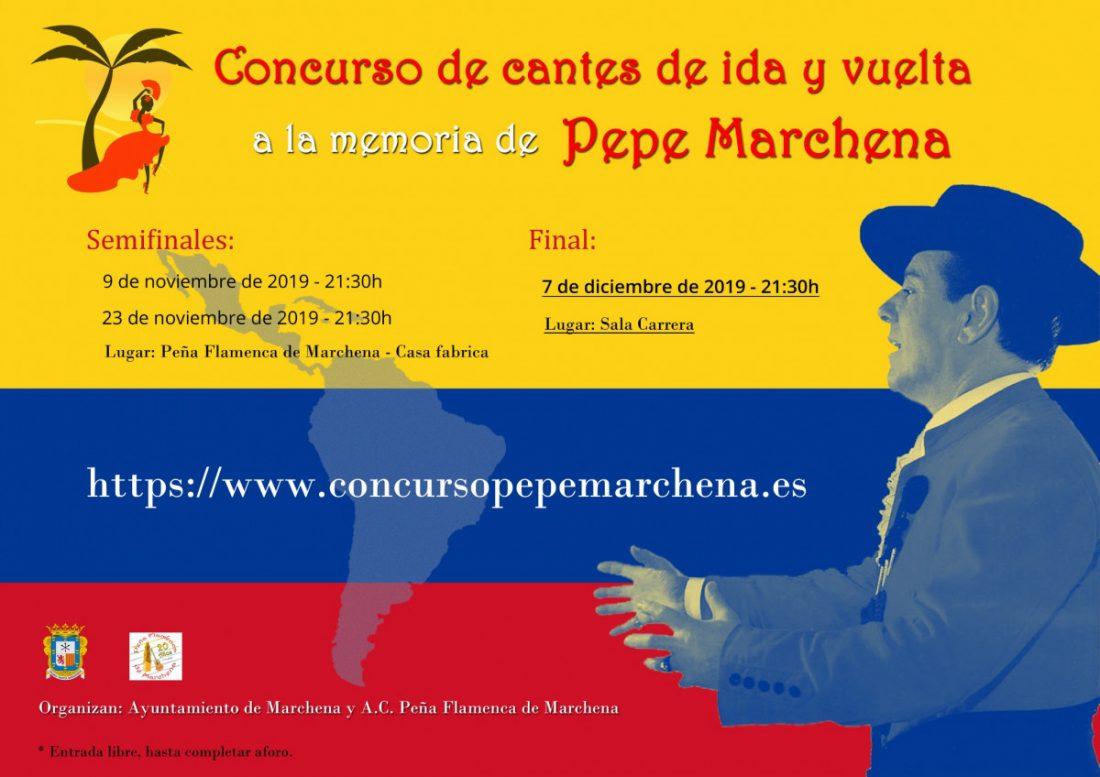 AionSur cante-pepe-marchena Los cantes de ida y vuelta a la memoria de Pepe Marchena arrancan con 12 concursantes Cultura Marchena