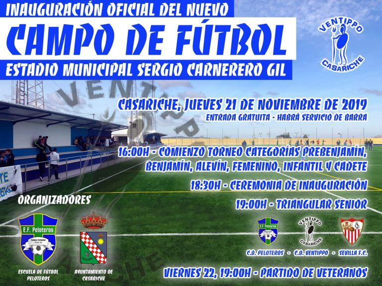 AionSur casariche Casariche inaugura hoy un nuevo estadio de fútbol Casariche Provincia