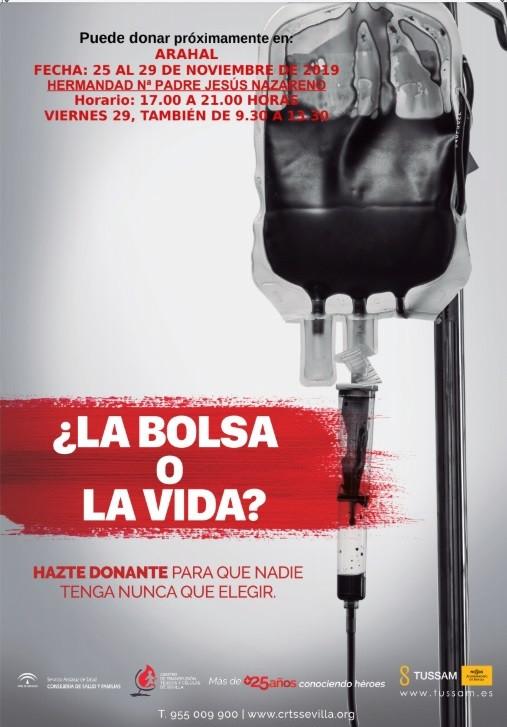 AionSur donaciones Vuelven los equipos de donaciones de sangre a Arahal del 25 al 29 de noviembre Arahal Salud