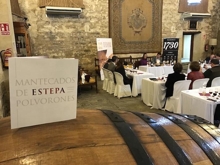 AionSur estepa-1 Los mantecados y polvorones de Estepa se encuentran con el mejor vino de Jerez Economía Estepa