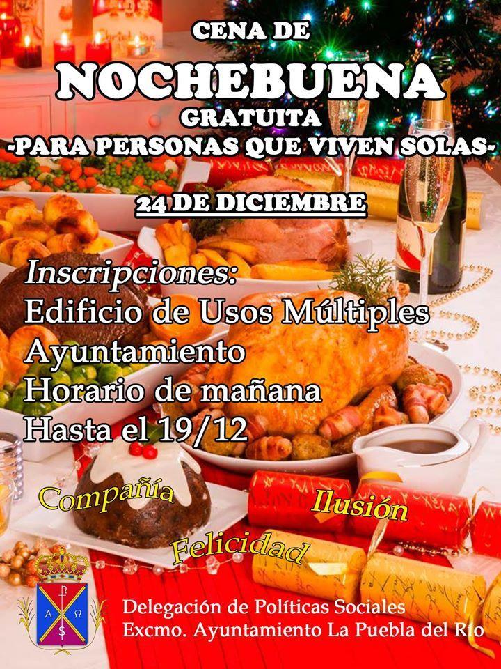 AionSur puebladelrío-cena-solidaria La Puebla del Río organiza una cena de Nochebuena para reunir a las personas que vivan solas Provincia