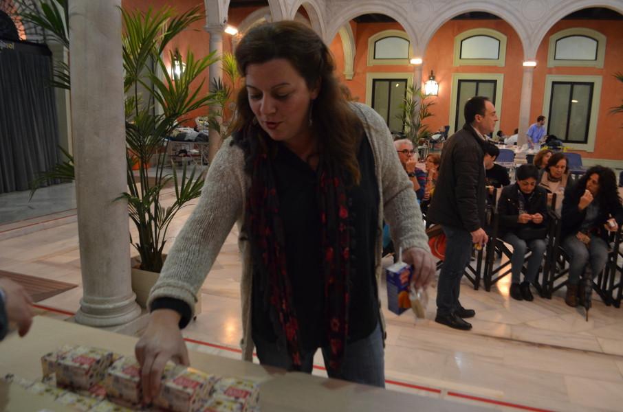 AionSur sangre-mantecados-estepa Los mantecados de Estepa se unen al maratón de donación de sangre de Sevilla Estepa Salud destacado