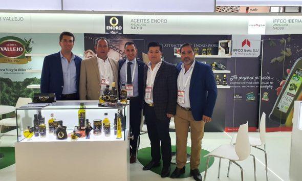 AionSur 75513358_1317548508413932_4612429009114890240_n-compressor-590x354 China prueba por primera vez el aceite de oliva virgen manzanilla de Enoro Empresas  destacado