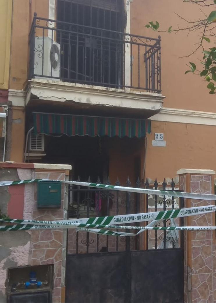 AionSur Incendio-El-Viso Muere una mujer en el incendio de una casa en El Viso del Alcor Incendios Provincia Sucesos  destacado