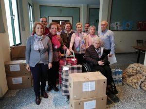 AionSur Marchena-Caritas-1-300x225 Casi 200 familias de Marchena son ayudadas a pasar las fiestas sin carencias en la mesa Marchena Sociedad destacado