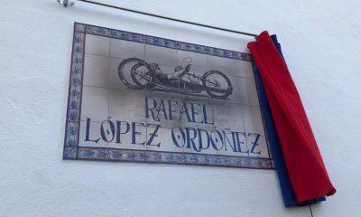 AionSur Rafael-calle-1-400x240 El gran campeón Rafael López ya tiene una calle en su pueblo, Marchena Marchena Sociedad