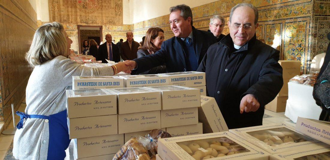 AionSur alcazar Los mejores dulces de convento salen a la venta en el Alcázar Sevilla Sociedad destacado