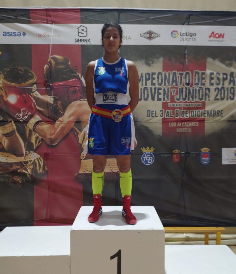 AionSur boxeo-marchena La marchenera Mari Ángeles García se cuelga otra medalla nacional Deportes Marchena destacado