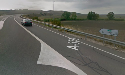 AionSur carretera-el-coronil-400x240 Muere un hombre y otro resulta herido en un accidente en El Coronil El Coronil Sucesos