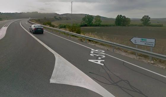 AionSur carretera-el-coronil-560x329 Muere un hombre y otro resulta herido en un accidente en El Coronil El Coronil Sucesos