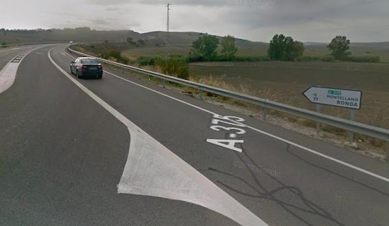 AionSur carretera-el-coronil Muere un hombre y otro resulta herido en un accidente en El Coronil El Coronil Sucesos