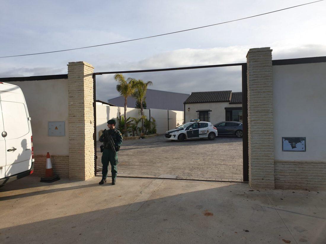 AionSur guardia-civil-drogas Operación contra el tráfico internacional de hachís en pueblos como Paradas y Marchena Narcotráfico Sucesos
