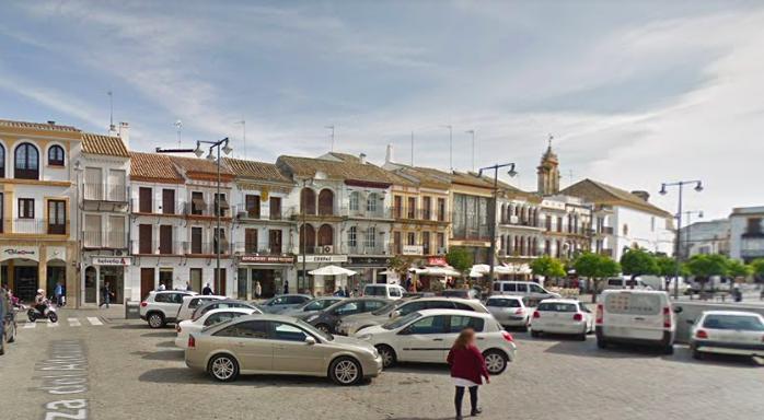 AionSur utrera-plaza Utrera inicia una campaña entre sus vecinos para evitar el contagio del coronavirus Coronavirus Salud Utrera