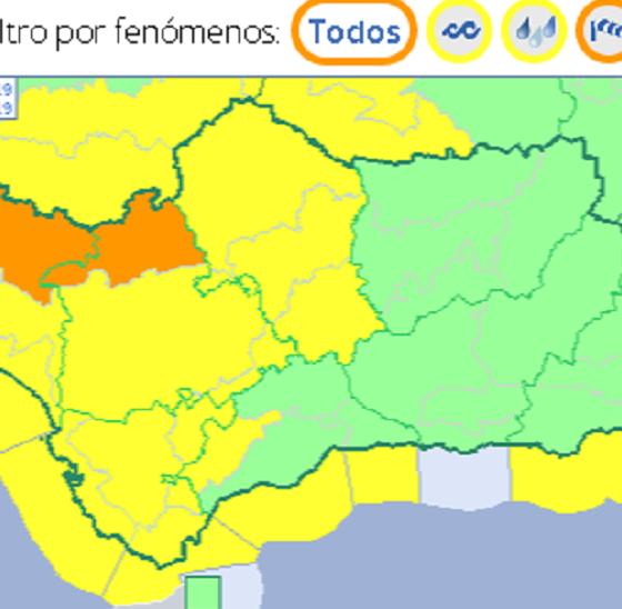 AionSur vientos-560x548 La Aemet prevé vientos fuertes mañana en las sierras de Huelva y Sevilla Sociedad  destacado