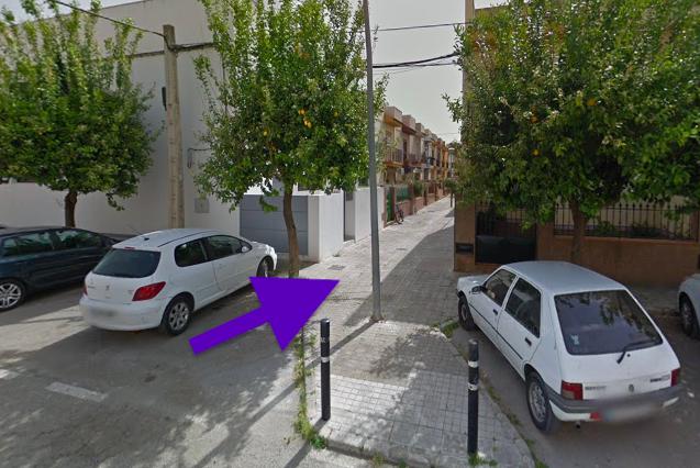 AionSur viso-call-incendio Tres accesos a la calle de El Viso afectada por un incendio estaban tapados por farolas Incendios Sucesos  destacado