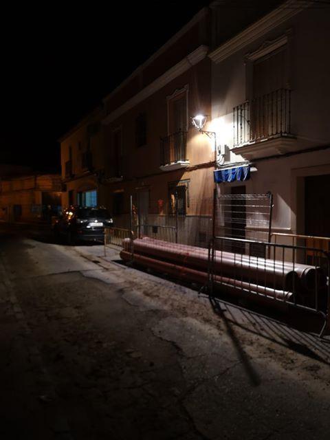 AionSur 83547734_1055350134825822_3149600136355643392_n-compressor Críticas a la instalación de la iluminación LED en la calle Lope de Vega de Arahal Arahal  destacado