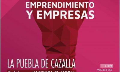 AionSur EOU6Gu_WkAEYOau-compressor-400x240 La V Jornada de Emprendimiento y Empresa de La Puebla de Cazalla será el día 7 de febrero La Puebla de Cazalla