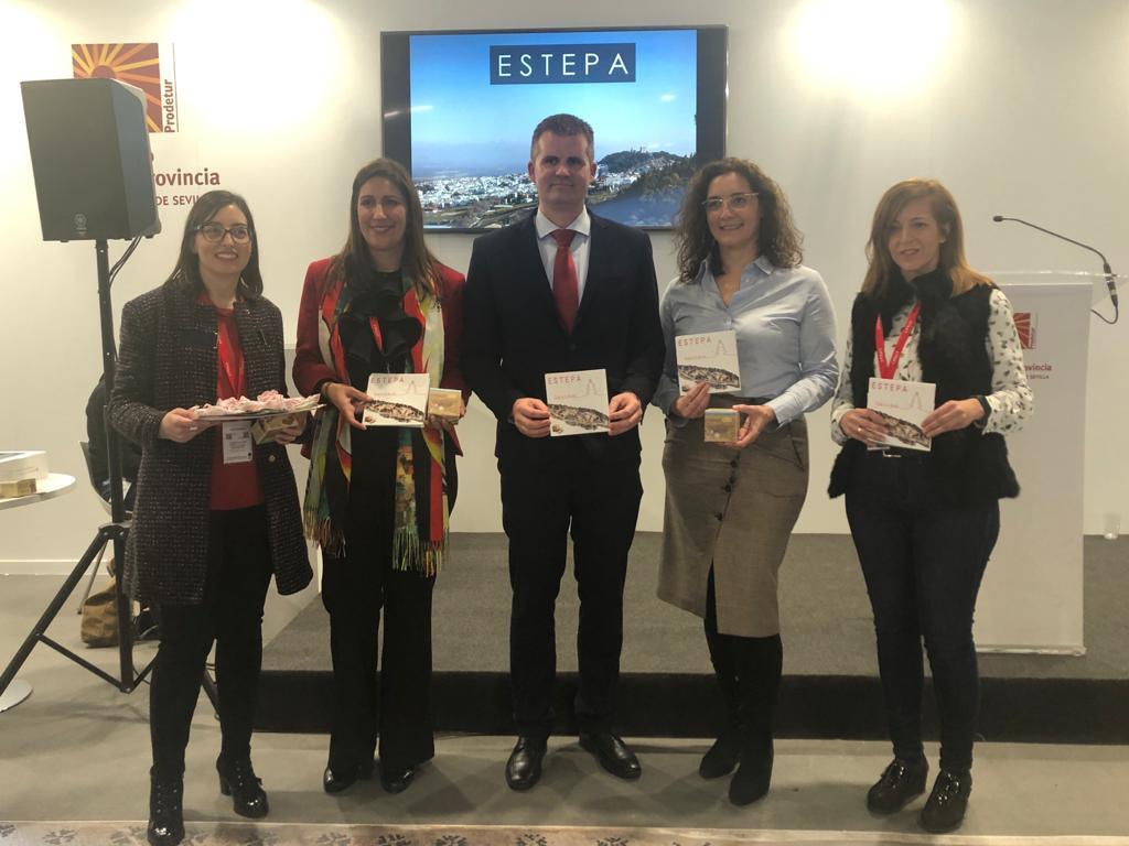 AionSur: Noticias de Sevilla, sus Comarcas y Andalucía Estepa-FITUR Las rutas históricas de Estepa toman el mando en FITUR Estepa Prodetur destacado