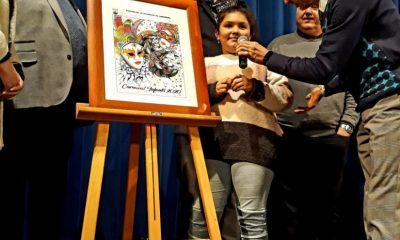 AionSur Ganadora-cartel-infantil-compressor-400x240 Un arlequín veneciano anuncia el carnaval de Alcalá, que abre con la elección de sus reinas Alcalá de Guadaíra Carnavales