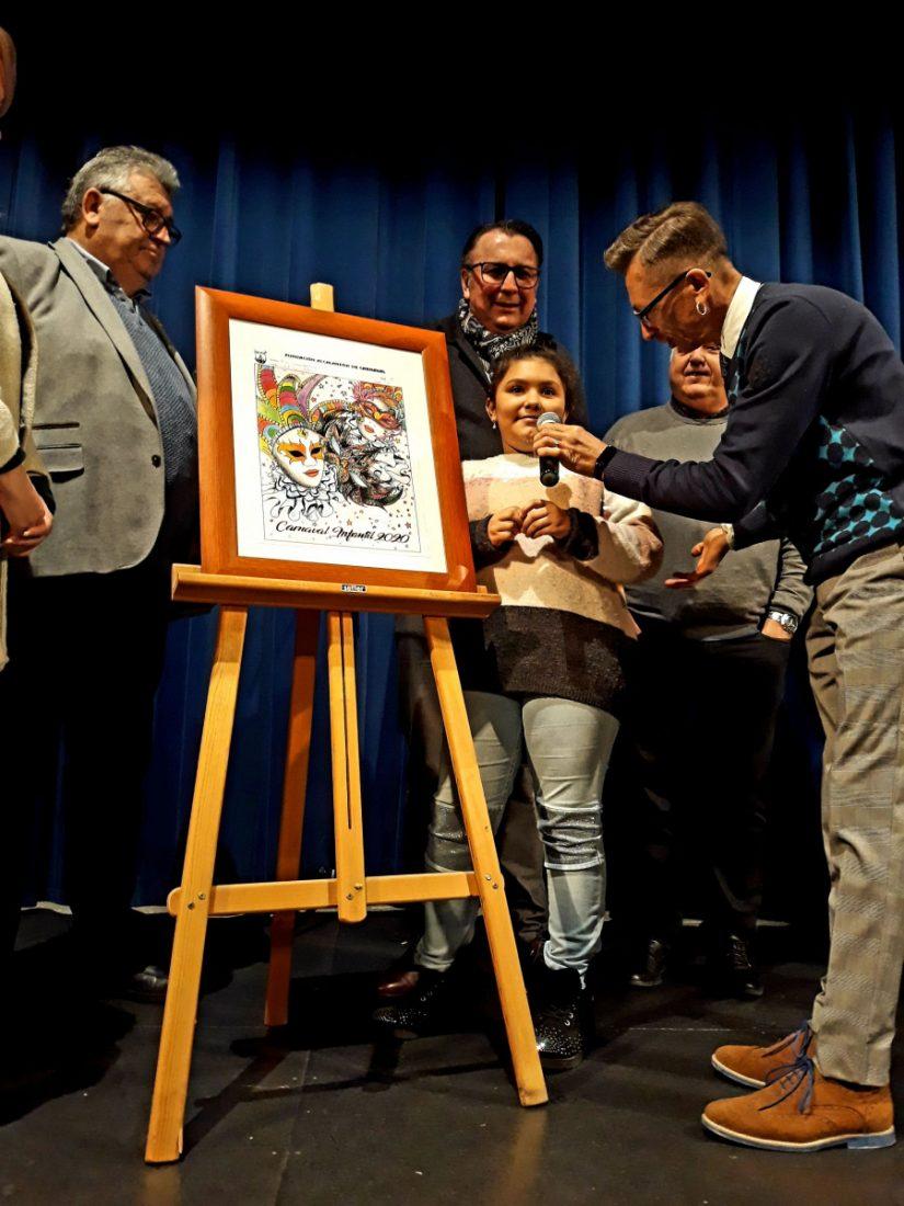 AionSur Ganadora-cartel-infantil-compressor Un arlequín veneciano anuncia el carnaval de Alcalá, que abre con la elección de sus reinas Alcalá de Guadaíra Carnavales