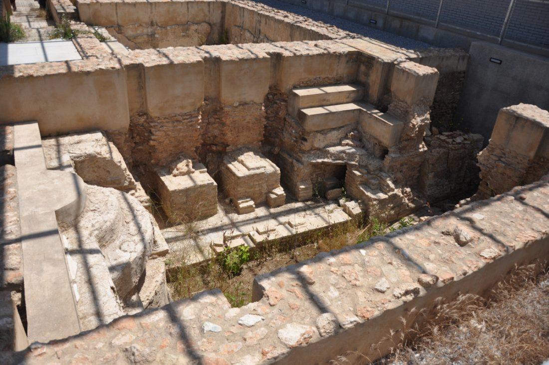 AionSur Herrera_termas_1 La Junta financiará la investigación de los nuevos hallazgos en la villa romana de Herrera Cultura Herrera
