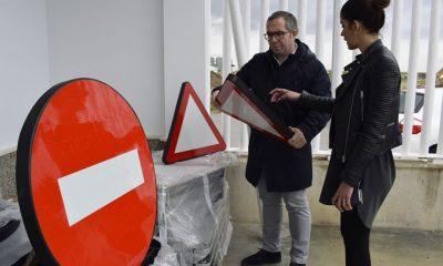 AionSur Los-Palacios-trafico-400x240 Los Palacios instalará en sus calles 153 señales hechas con elementos reciclados Provincia Sociedad
