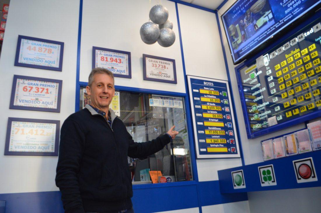 AionSur Loteria_Arahal El despacho de Madre de Dios de Arahal reparte casi 33.000 euros de los Euromillones Arahal Sociedad  destacado