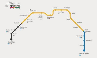 AionSur Metro-Sevilla-400x240 Metro de Sevilla reanuda el servicio con cuatro estaciones cerradas todavía Sevilla Sociedad  destacado