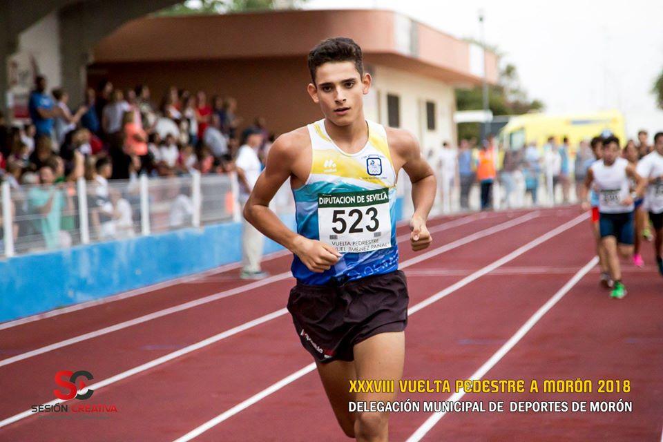 AionSur atleta-moron El moronense José Pablo Villalba, convocado con la selección española de medio fondo Deportes Morón de la Frontera