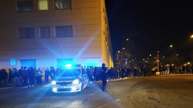 AionSur carreras-sevilla Abortada una carrera ilegal de coches convocada en Sevilla por redes sociales Sevilla Sucesos